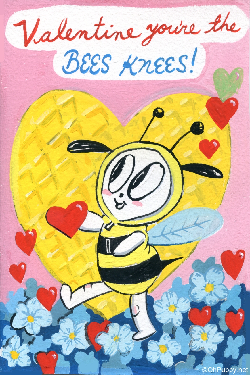 BeesKnees4x6Wat
